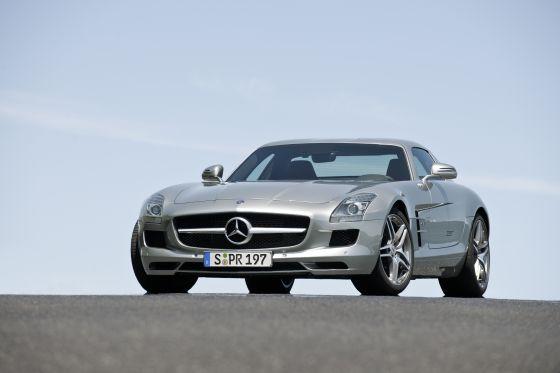 Der neue Mercedes SLS AMG (Foto: Daimler)