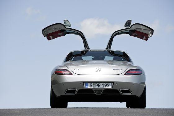 UNd auch hier wurden mal die Türen geöffnet... (Foto: Daimler)