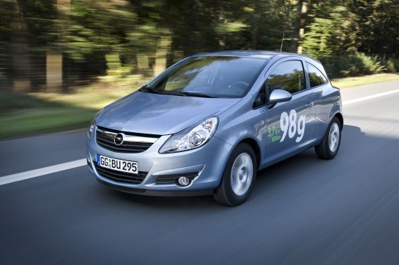 Der neue Opel Corsa ecoFLEX (Foto: Opel)