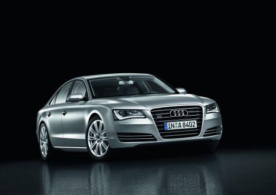 Der neue Audi A8 gewinnt weiter an dynamischer Ausstrahlung (Foto: Audi)