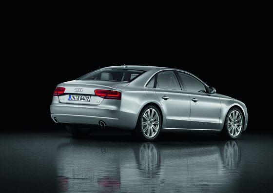 Wirkt kleiner, als er ist: der neue Audi A8 (Foto: Audi)