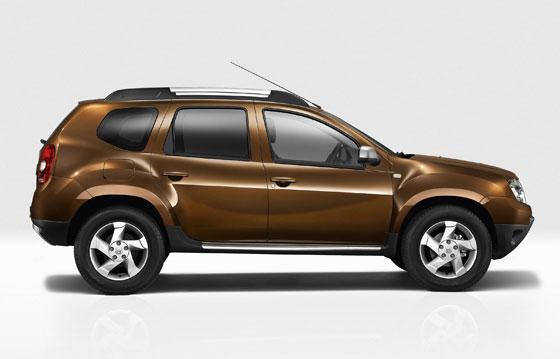 Der neue Dacia Duster in der Seitenansicht (Foto: Dacia)
