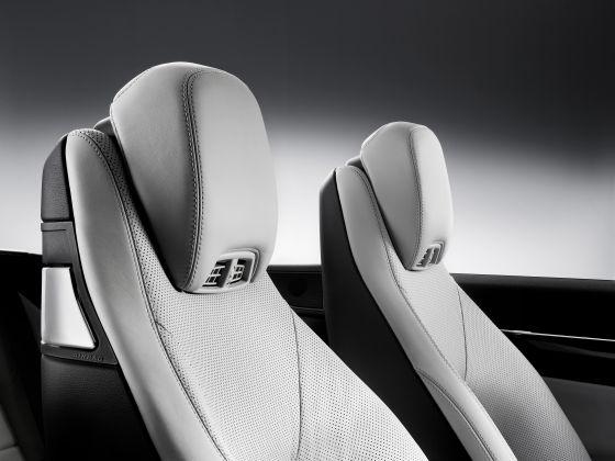 Die Kopfraumheizung soll das ganze Jahr für offenes Fahren sorgen (Foto: Daimler)