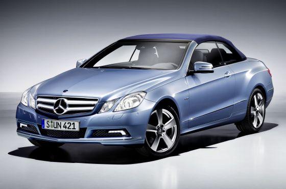 Das neue E-Klasse Cabrio macht geschlossen eine gute Figur (Foto: Daimler)