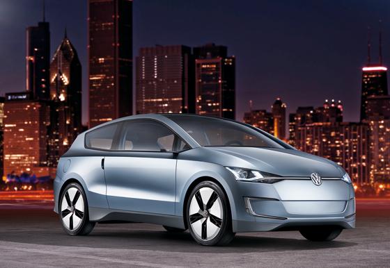 Volkswagens Antwort auf aktuelle Herausforderungen ist die Studie Up! Lite, die erstmals in Los Angeles gezeigt wird (Foto: Volkswagen)