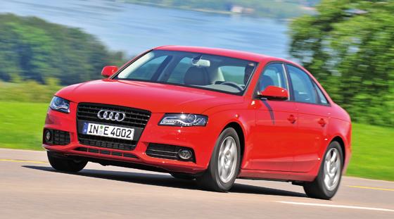 In der Mittelklasse vorn: Der Audi A4 (Foto: Audi)