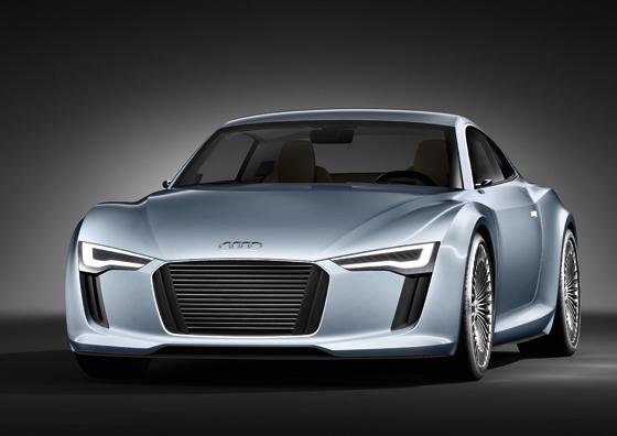 Zweiter Audi e-tron in Detroit vorgestellt: Optisch näher an der Serie und mit faszinierender Technik. (Foto: Audi)