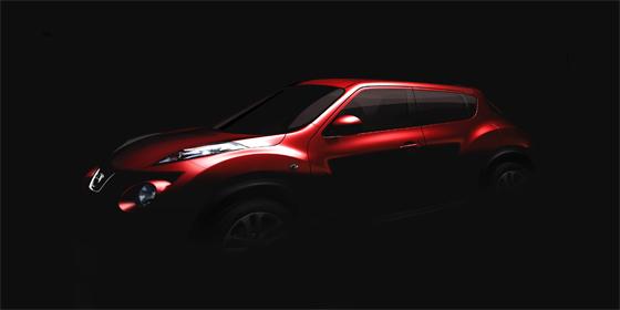 Der neue Nissan Crossover Juke basiert auf der studie QAZANA (Foto: Nissan)