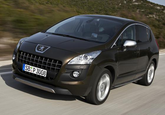 Auch der Minivan Peugeot 3008 ist jetzt in der Business-Line Ausstattung zu haben (Foto: Peugeot)
