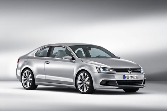 Die VW-Studie New Compact Coupé vereinigt Leistung mit Sparsamkeit (Foto: Volkswagen)