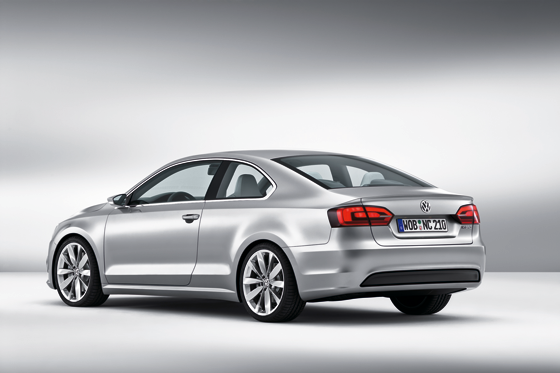 Die Studie New Compact Coupé ist nah an der Serie gezeichnet (Foto: Volkswagen)