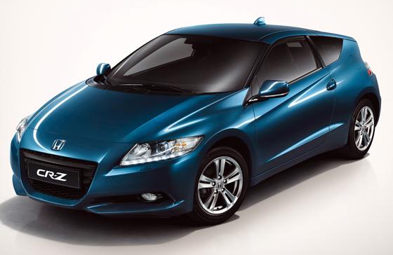 Weltpremiere des Honda CR-Z Hybrid-Sportcoupé auf der Detroit Auto Show 2010 ÙSpritzig, schick und innovativ - mit dem Sportcoupé CR-Z macht Honda den Hybridantrieb zum Garanten für Fahrspaß. (Foto: obs/Honda Motor Europe (North) GmbH)