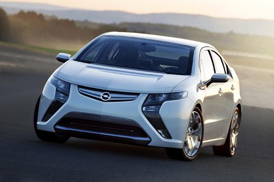 Opel Ampera: Das erste alltagstaugliche Elektrofahrzeug kommt 2011 (Foto: Opel)