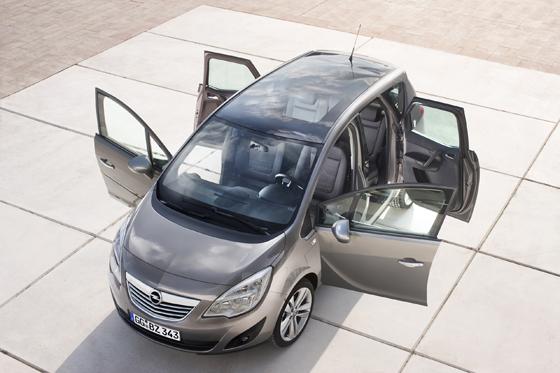 Flexibilität ist Trumpf beim neuen Opel Meriva (Foto: Opel)