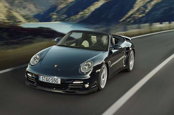 Der Porsche 911 Turbo S in der Cabriolet-Version (Foto: Porsche)