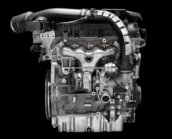 Der neue 2,0-Liter-GTDI (Gasoline Turbocharged Direct Injection) Vierzylinder-Benziner kommt ab Sommer 2010 in den Modellen S80, Volvo V70 und Volvo XC60 zum Einsatz (Foto: Volvo)