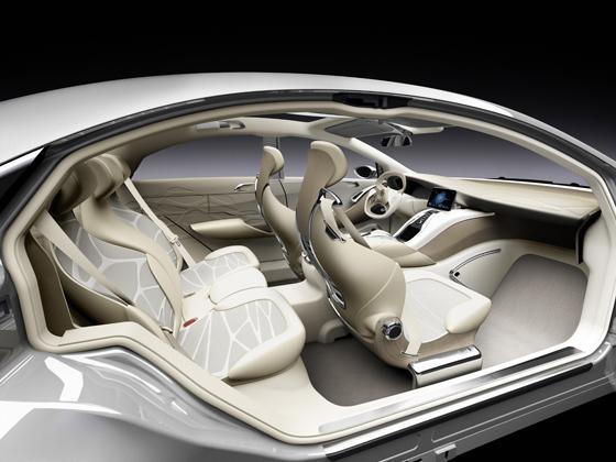 Mercedes-Benz F 800 Style - Innenansicht des F 800 Style (Foto: Daimler)