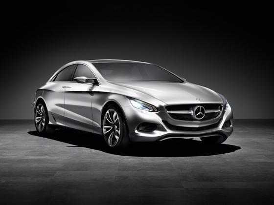 Mercedes-Benz F 800 Style - hochemotionale Formensprache (Foto: Daimler)