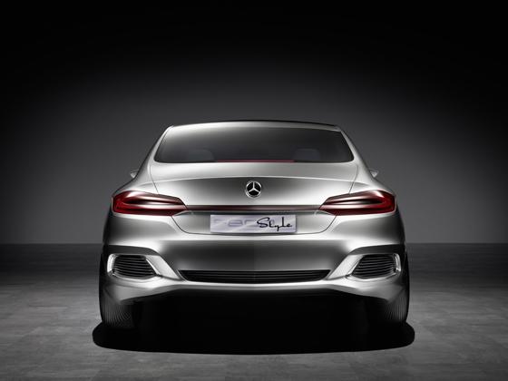 Mercedes-Benz F 800 Style - Rückleuchten mit modernster LED-Technologie (Foto: Daimler)