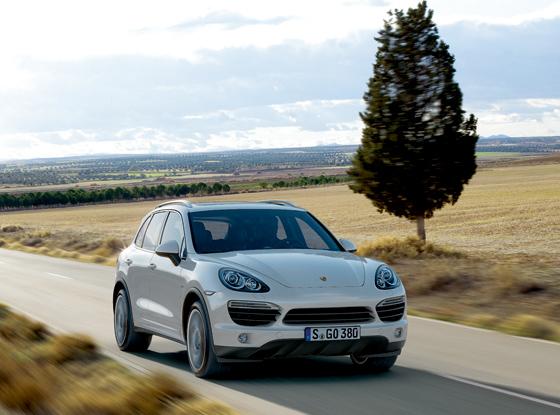 Der neue Porsche Cayenne in der Hybrid-Version (Foto: Porsche)