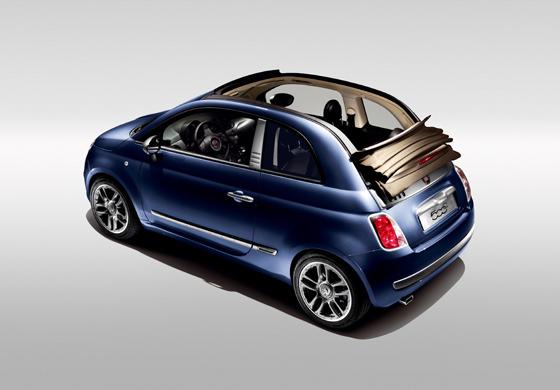 """Nun gibt es auch das """"cabrio"""" desw Fiat 500 als Sonderedition in Zusammenarbeit mit dem Modelabel DIESEL (Foto: Fiat)"""