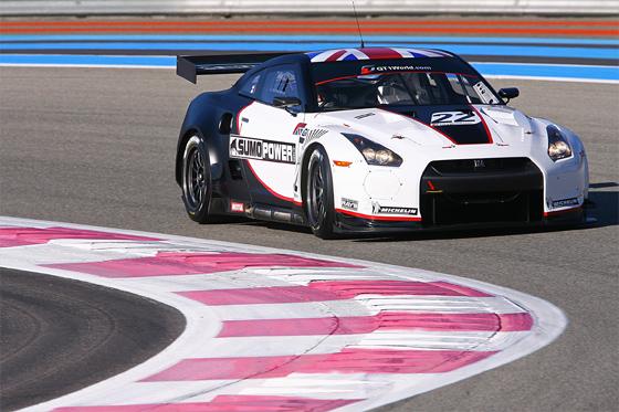 Nissan startet mit zwei Teams und drei Fahrzeugen in der disjährigen FIA-GT1 Weltmeisterschaft und stellt das Safety-Car (Foto: Nissan)