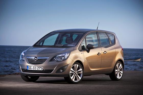Der neue Opel Meriva überzeugt durch interessante Lösungen, wie zum Beispiel die gegenläufig öffnenden Türen. (Foto: Opel)