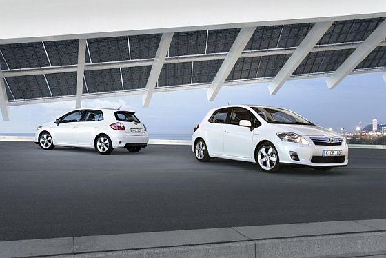 Der neue Toyota Auris Hybrid (Foto: Toyota)