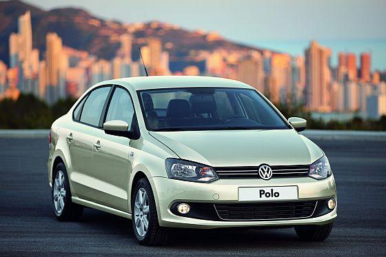 Speziell für den russischen Markt wurde der Polo in der Limousinenversion angepasst. (Foto: Volkswagen)