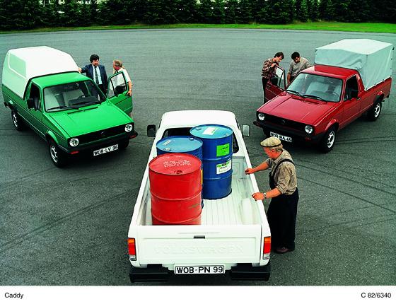 Der praktische Volkswagen Caddy der ersten gerneration hat bereits Kultstatus, und die ersten Fahrzeuge können jetzt als Oldtimer registriert werden.