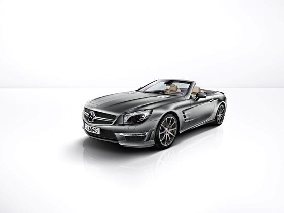Der auf 45 Exemplare limitierte SL 65 AMG 45th Anniversary (Foto: Daimler Benz)