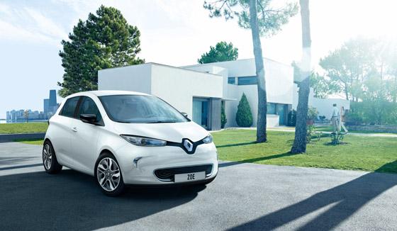 Renault Zoe: elektrische Reichweite von über 200 Kilometern.