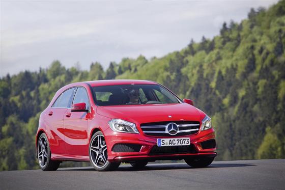 Neue Mercedes A Klasse