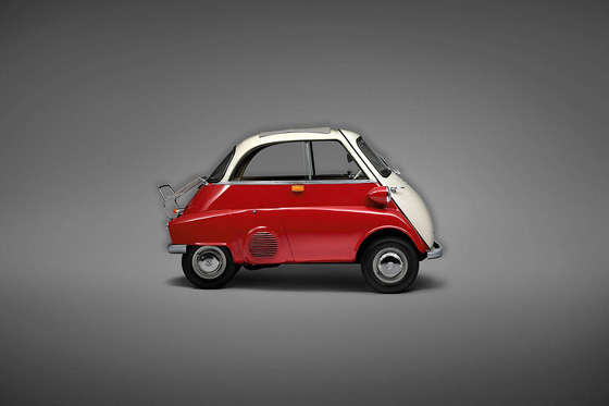 BMW Isetta.  Erik Chmil, BMW Edition