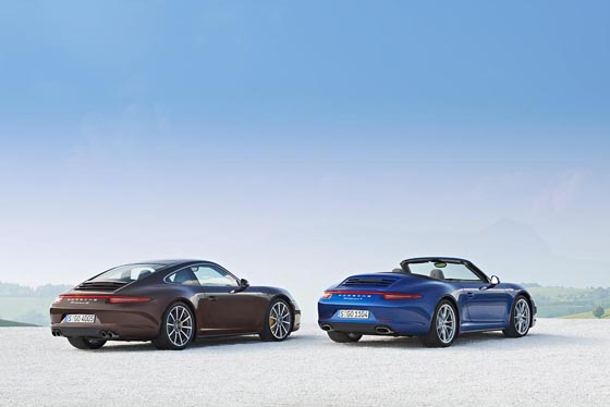Der neue Porsche 911 erhält den Porsche Allradantrieb PTM (Porsche Traktion Management)