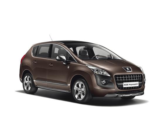 Peugeot 3008 Limited Edition Napapijri: mit 17 Zoll-Leichtmetallfelgen. Foto: Peugeot.