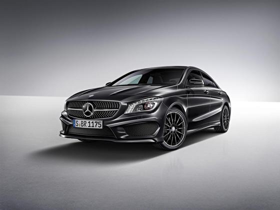 Nur im ersten Jahr erhältlich: Edition 1 des Mercedes CLA. Foto: Daimler