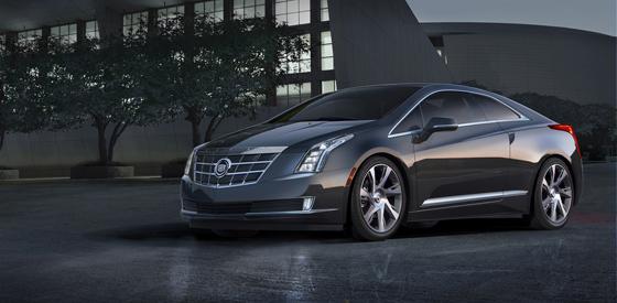 Luxus-Coupé mit Elektroantrieb und Reichweitenverläneger: Cadillac ELR. Foto: GM.