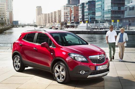 Über 80 000 Bestellungen liegen für den Opel Mokka vor. Foto: Opel.