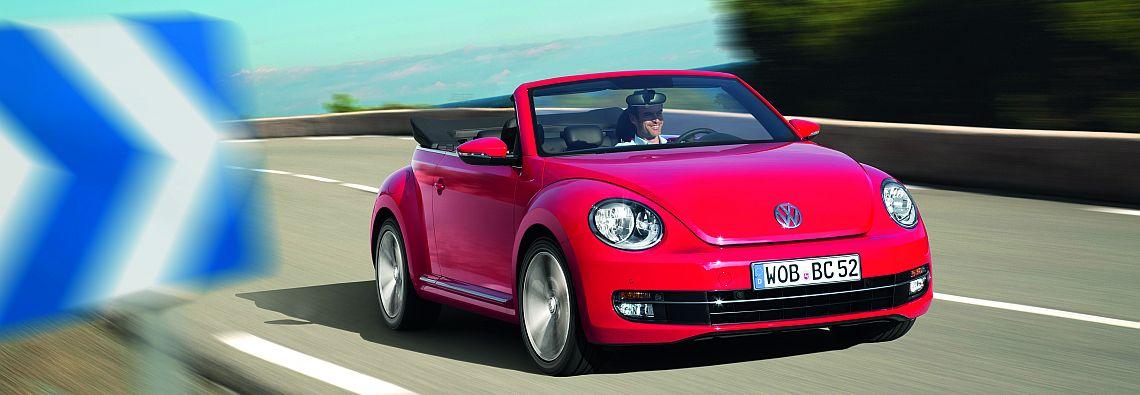 Das neue VW Beetle Cabrio