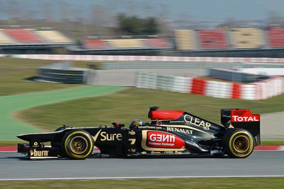 Lotus fuhr bereits in der Saison 2012 sehr schnell mit Renault-Power. Foto: Renault.