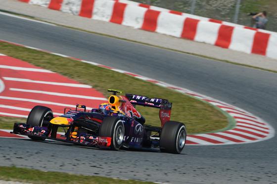 Red Bull-Renault zählt nach drei Titeln in Folge auch 2013 wieder zu den Top-Favoriten in der Formel 1. Foto: Renault.
