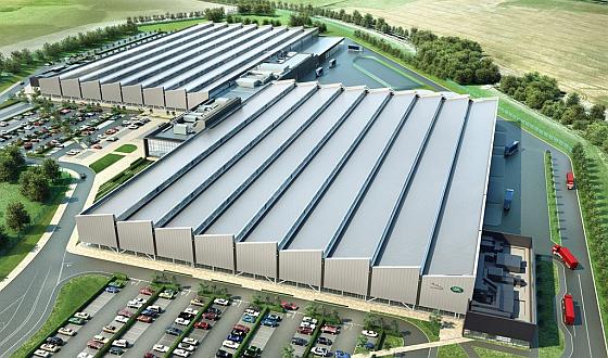 Das neue Motorenwerk wird ab 2015 eine neue Motorengeneration für Jaguar und Land Rover fertigen. Geplant sind 1400 Arbeitsplätze. (Foto: Jaguar Land Rover)