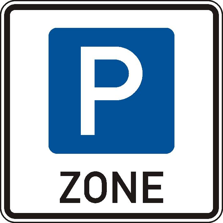 Das neue Verkehrszeichen kennzeichnet den Beginn einer bewirtschafteten Parkzone. Foto: BASt.