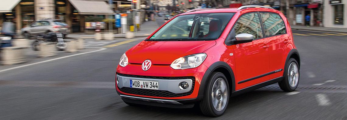 Der neue cross up! ist ab sofort bestellbar. (Foto: Volkswagen)