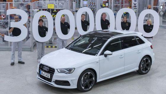 Drei Millionen Audi A3 in 17 Jahren - die Idee eines edleren Golf-Bruders entwickelte sich zum Bestseller (Foto: Audi)