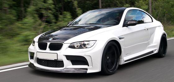 Der edo GTRS5 auf BMW M3-Basis klotzt mit einem Breitbau aus vielen Karbon-Anbauteilen. (Foto:edo)