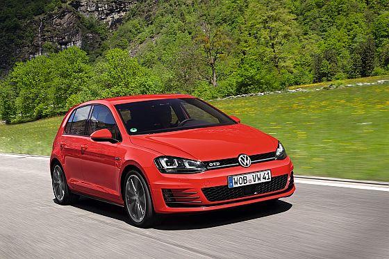 Der neue Volkswagen Golf GTD auf dem Weg zu den Händlern. (Foto: Volkswagen)