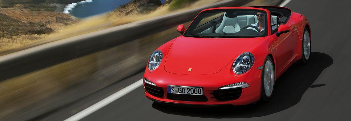 Mit dem Ausstattungspaket kann man aiuch das Porsche 911 S Cabriolet ausstatten. (Foto: Porsche)