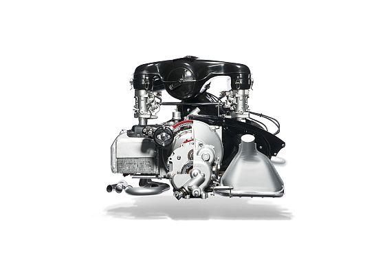Der 2,0-Liter-Boxermotor; aus dem Porsche 911 in 1963 (Foto: Porsche)